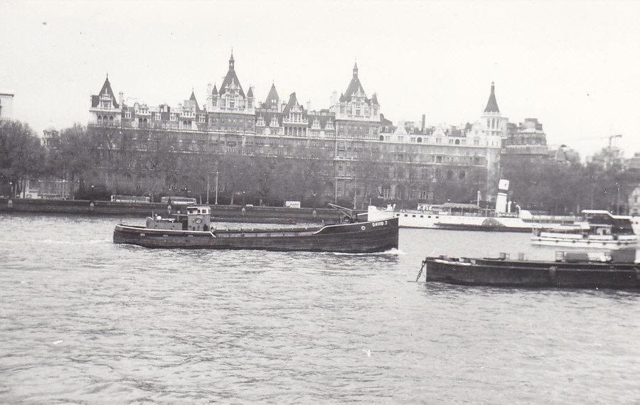 As DAVID J at Hungerford Bridge on 10/5/1984