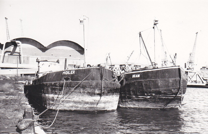 As MOILER in the India & Millwall Docks on 06/01/1974