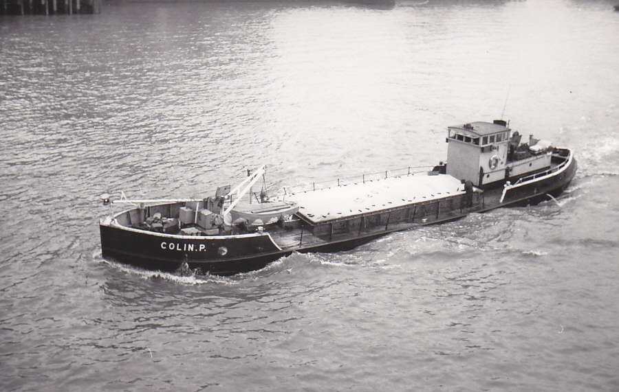 As COLIN P  Pool of London inward 18/3/1976