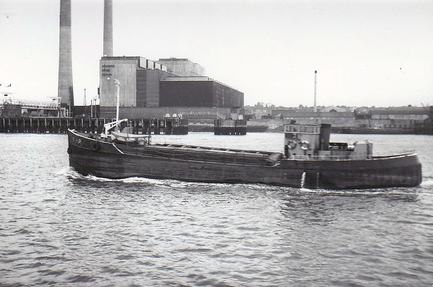 As AHP outward on the Thames on 19/7/1977