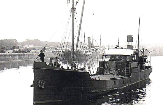 Broken 1955 SS Kinneard Head