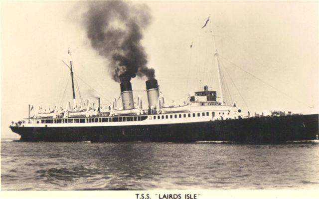 Broken 1957 Lairds Isle