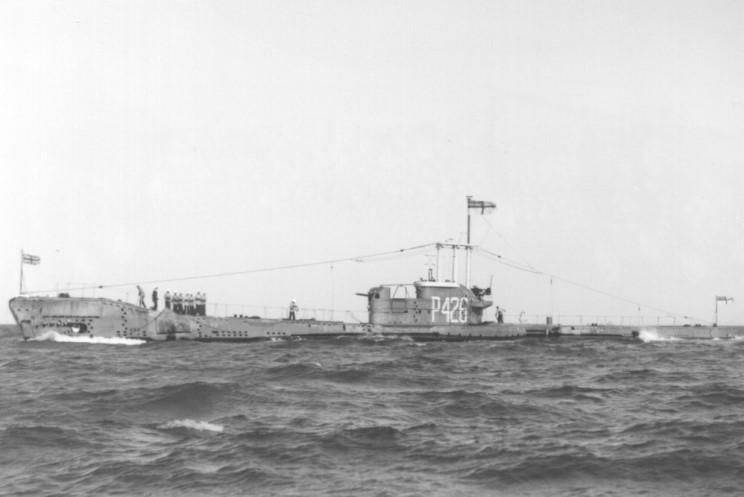 HMS Aurochs - P426