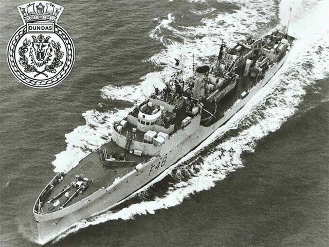 HMS Dundas - aerial