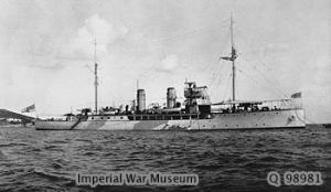 HMS Foxglove
