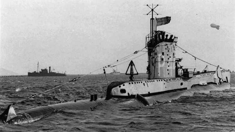 HMS United on 01-01-1944