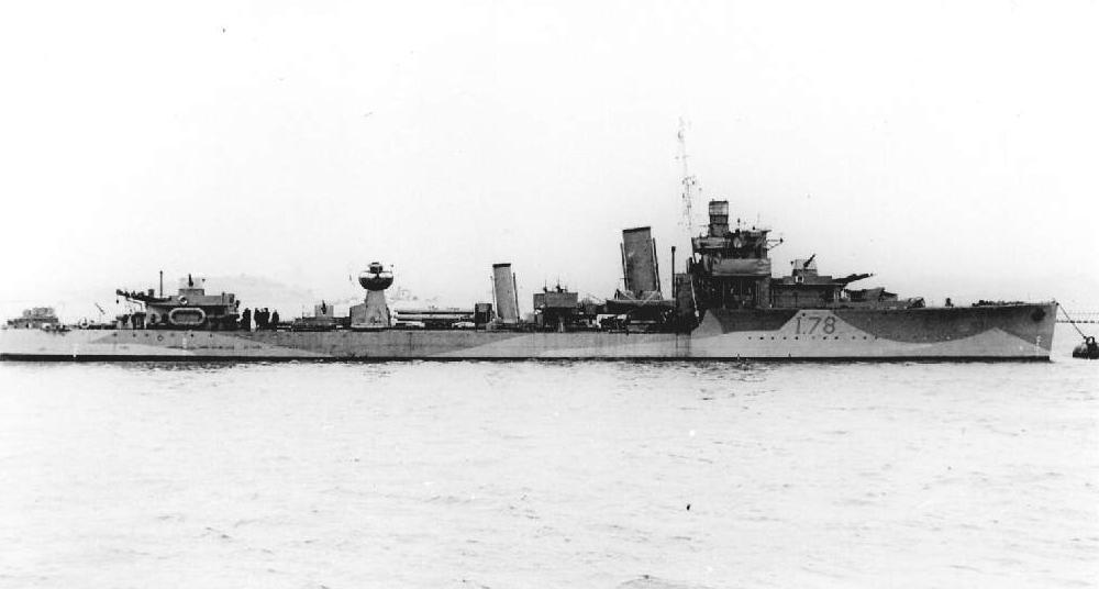 HMS Wolverine - D78