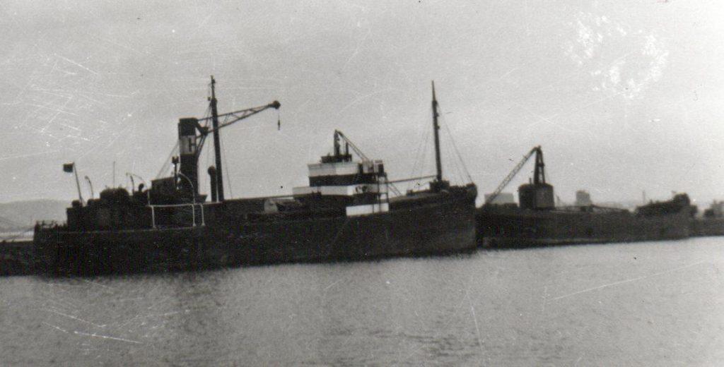 Holdernett - Ballybeg ahead - Spring 1957
