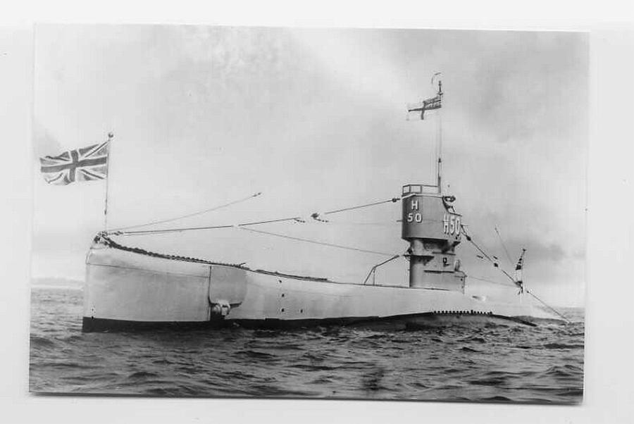 Submarine H 50 - a