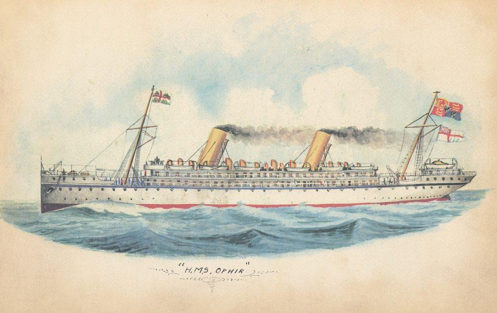 HMS Ophir of 1891
