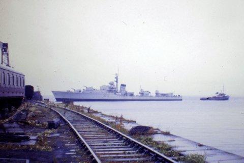 HMS Solebay - B