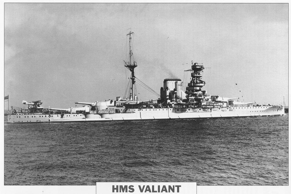 HMS VALIANT of 1916