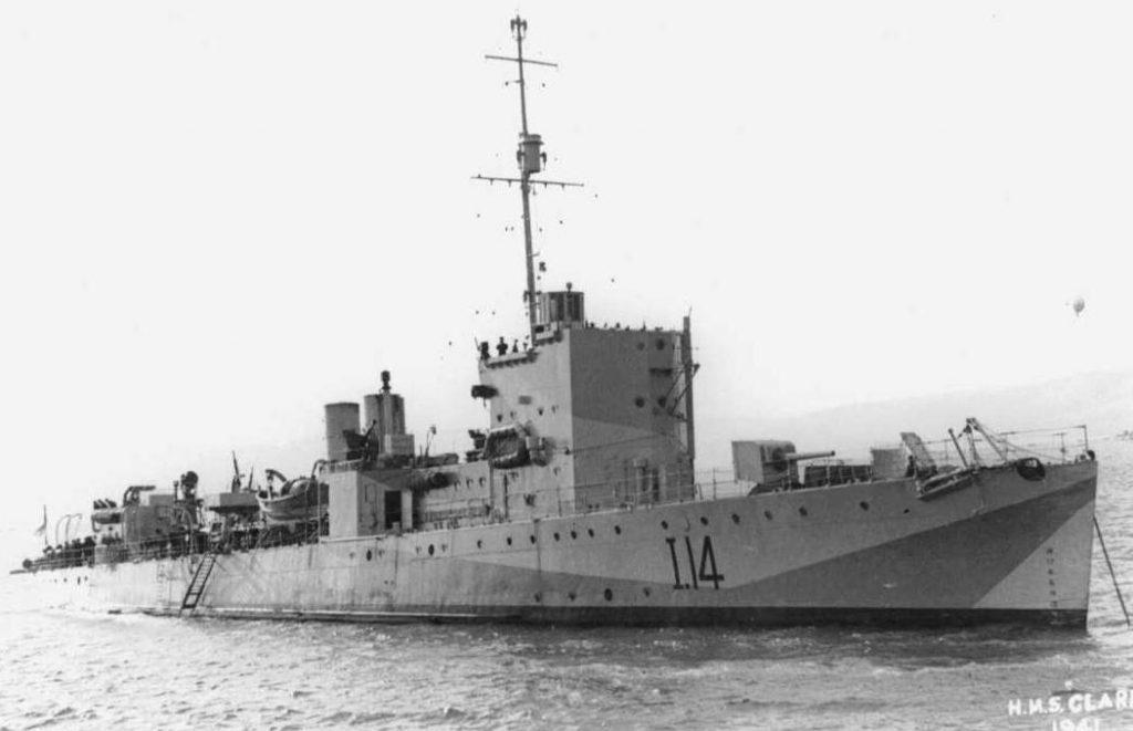 HMS Clare in 1941