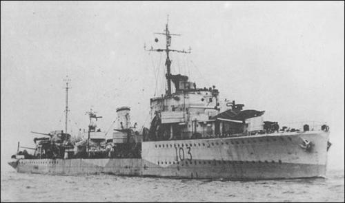 HMS Icarus - D 03