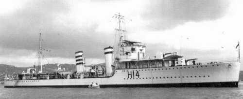 Pre-War image of HMS ACTIVE