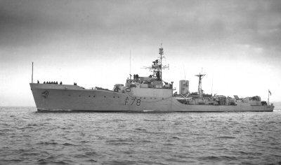 Frigate HMS Blackwood - 2