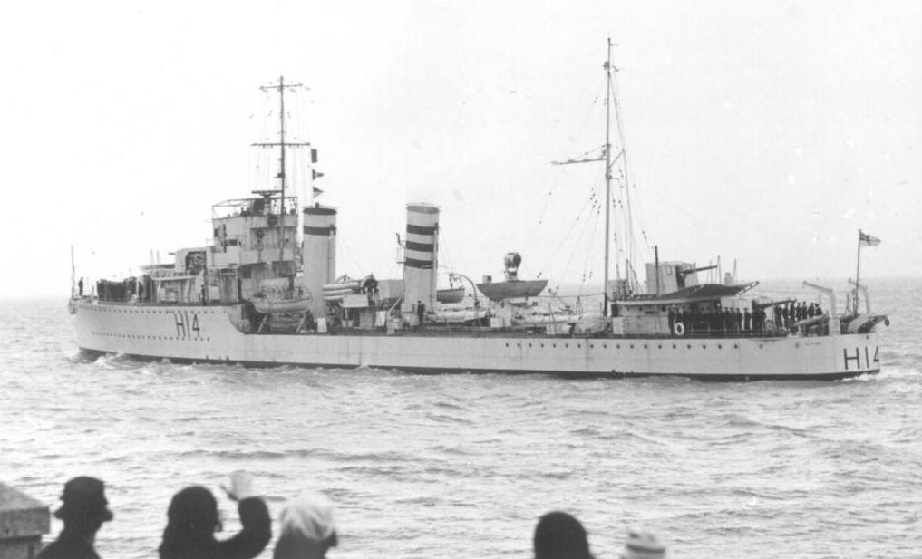 HMS Anthony - H 14