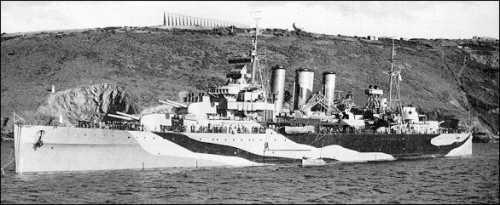 HMS Kent - 2