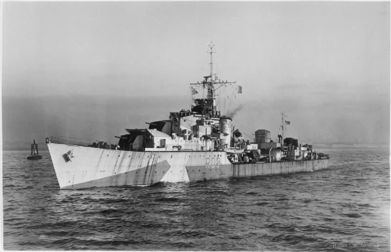 HMS Zest - 1944