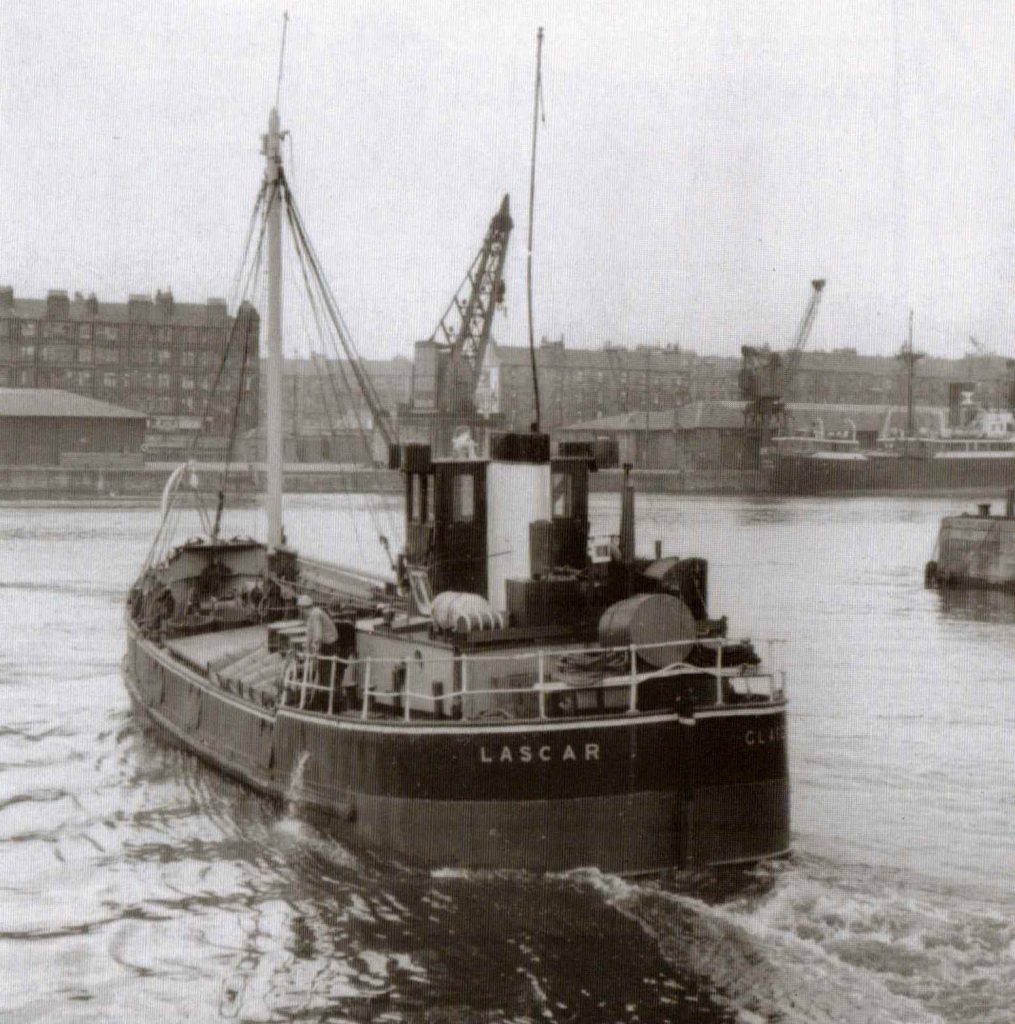 Lascar at Queen's Dock, Glasgow