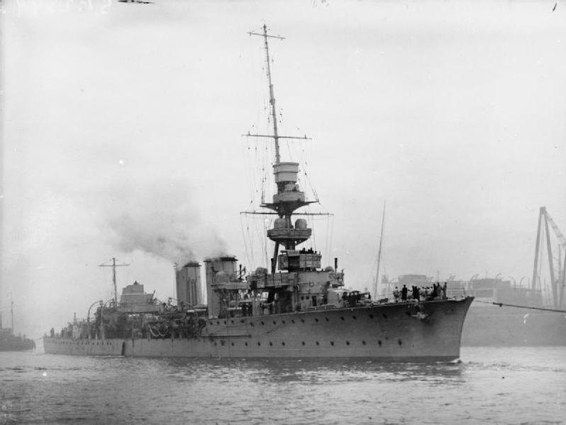 HMS Centaur of 1916
