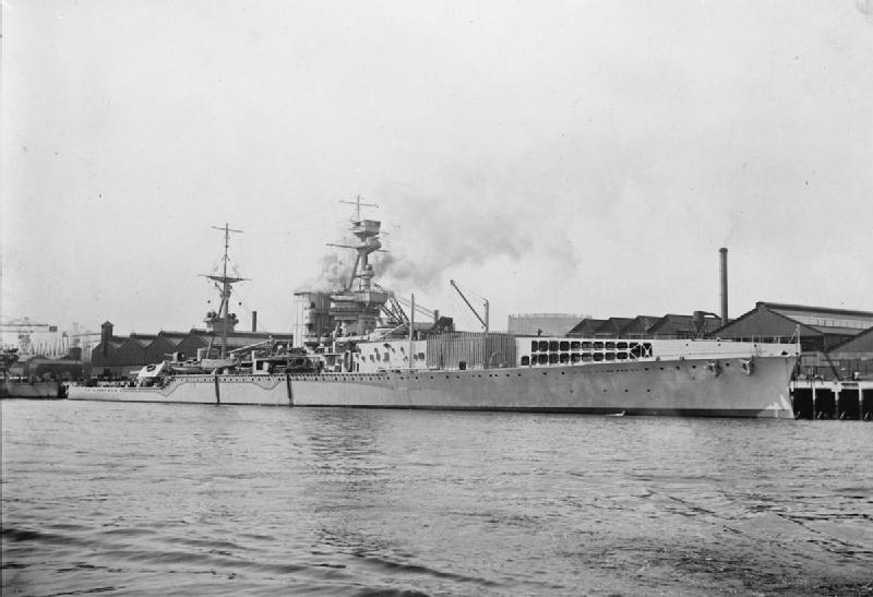 HMS Furious - original build