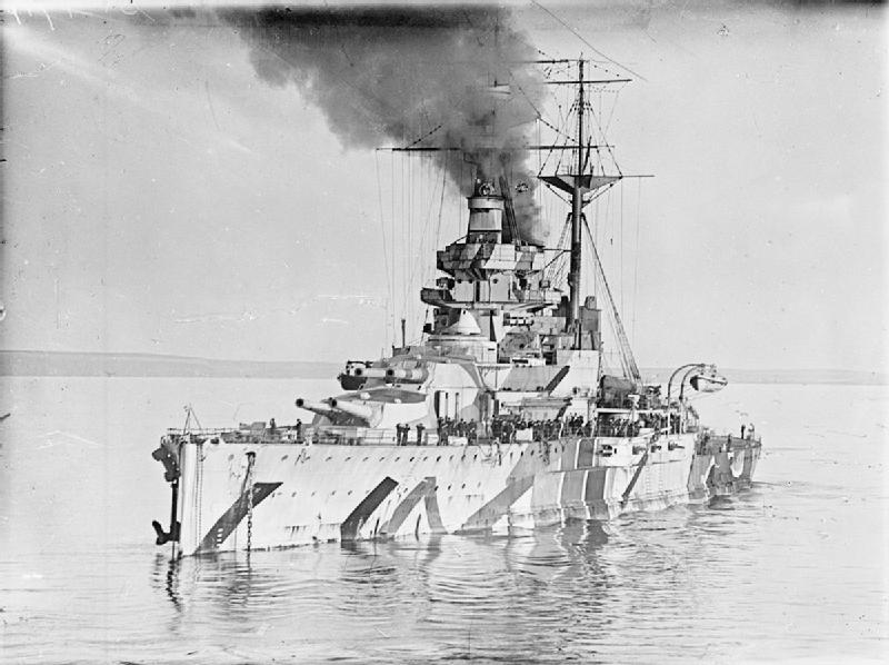 HMS Ramillies - 1