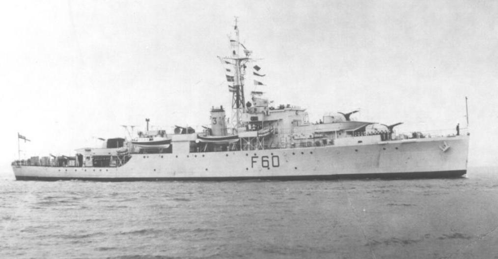 HMS Alacrity - U60 F60