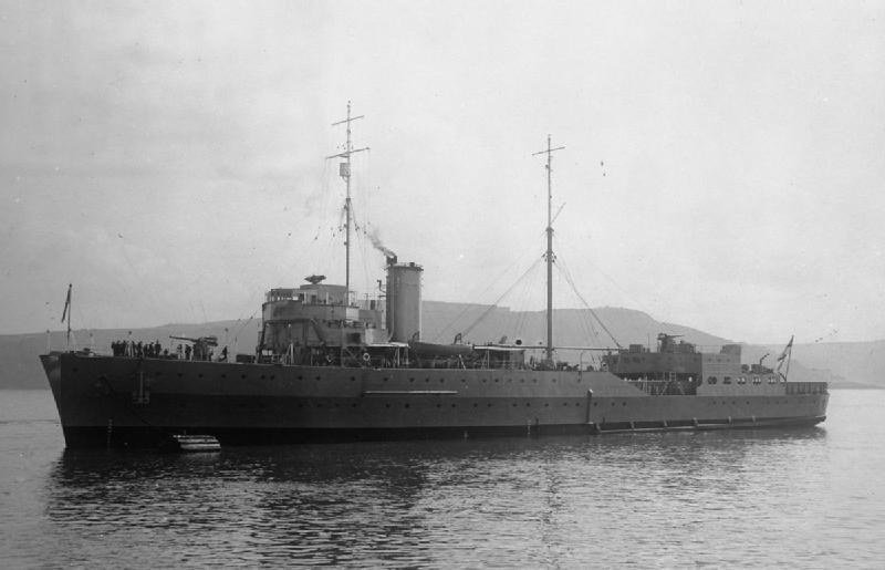 HMS Guardian (1932) seen here in 1934