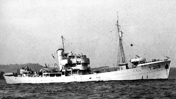 As HMS Butser