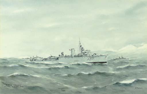 HMS Hound - Iceland