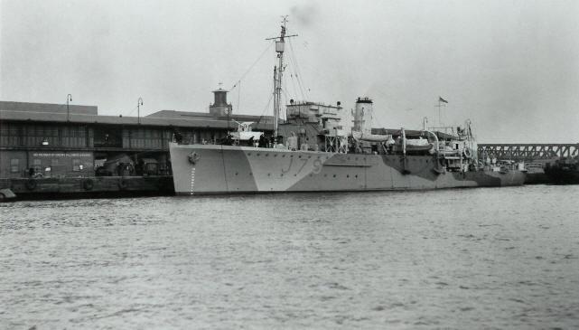 HMS Scott in 1943