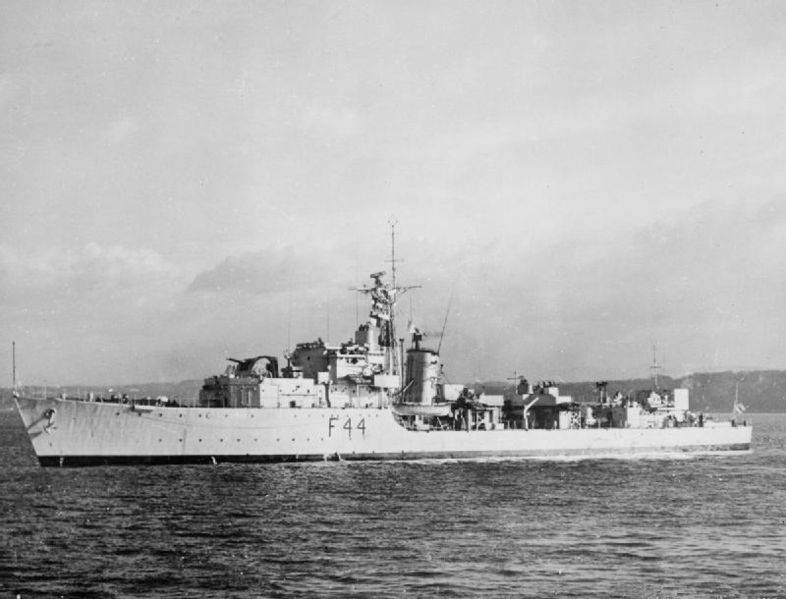 HMS Tenacious (F44) after conversion to Frigate