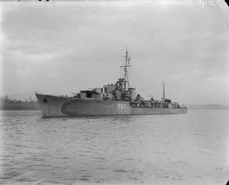 HMS Tyrian - 1