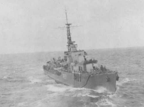 HMS Tyrian in 1946